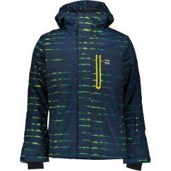 Kurtka narciarska w kolorze granatowo-zielonym. Niebieskie kurtki męskie marki Billabong, m. W wyprzedaży za 385,95 zł.