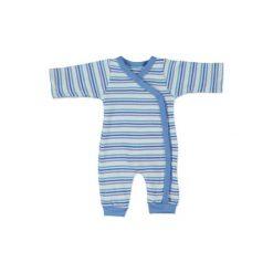 Fixoni  Boys Piżama kolor niebieski. Niebieskie śpiochy niemowlęce marki Fixoni, z bawełny. Za 79,00 zł.