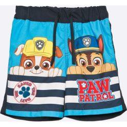 Name it - Kąpielówki dziecięce Paw Patrol 80-110 cm. Szare kąpielówki chłopięce marki Name it, z poliesteru. W wyprzedaży za 69,90 zł.