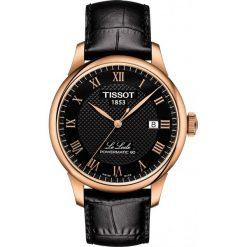 RABAT ZEGAREK TISSOT T-Classic T006.407.36.053.00. Czarne zegarki męskie TISSOT, ze stali. W wyprzedaży za 2129,60 zł.
