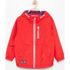 Odzież chłopięca: Kurtka przeciwdeszczowa – Czerwony
