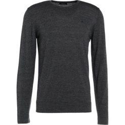 Swetry klasyczne męskie: J.LINDEBERG PERFECT MERINO Sweter black mouline
