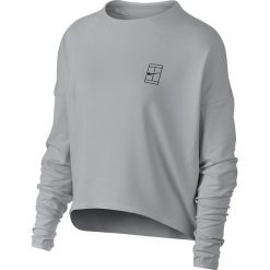 Bluzy damskie: bluza tenisowa damska NIKE DRY TOP LONG SLEEVE BASELINE / 866992-092 – NIKE DRY TOP LONG SLEEVE BASELINE