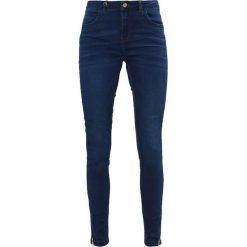 ONLY ONLKENDELL  Jeans Skinny Fit dark blue denim. Niebieskie jeansy damskie marki ONLY, z bawełny. W wyprzedaży za 135,20 zł.