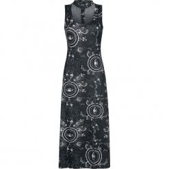 Jawbreaker Full Eye Dress Sukienka czarny. Czarne sukienki na komunię Jawbreaker, xxl, z nadrukiem, z bawełny, oversize. Za 199,90 zł.
