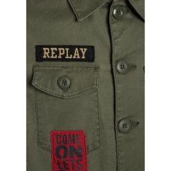Replay Koszula green. Zielone bluzki dziewczęce bawełniane marki Replay. Za 499,00 zł.