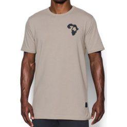 Under Armour Koszulka męska Ali Rumble In The Jungle Tee Beżowa r. M (1299025-599). Szare koszulki sportowe męskie marki Under Armour, l, z dzianiny, z kapturem. Za 99,00 zł.
