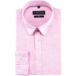 Koszula SIMONE slim KLRS000027. Fioletowe koszule męskie na spinki marki KIPSTA, m, z elastanu, z długim rękawem, na fitness i siłownię. Za 229,00 zł.