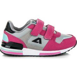 Buty dziecięce: Kolorowe Trampki Na Rzepy KIMBERLY