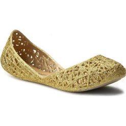 Baleriny MELISSA - Mel Campana Zig Zag Inf 31737 Gold 06661. Żółte meliski damskie marki Melissa, z tworzywa sztucznego. W wyprzedaży za 199,00 zł.