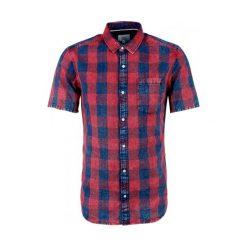 S.Oliver Koszula Męska M Czerwony. Szare koszule męskie marki S.Oliver, l, z bawełny, z włoskim kołnierzykiem, z długim rękawem. W wyprzedaży za 116,00 zł.