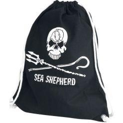 Sea Shepherd Jolly Roger Torba treningowa czarny. Czarne torebki klasyczne damskie Sea Shepherd, z bawełny. Za 62,90 zł.