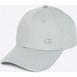 Calvin Klein Jeans - Czapka. Szare czapki z daszkiem męskie Calvin Klein Jeans. Za 119,90 zł.