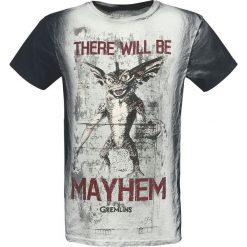 Gremlins There Will Be Mayhem T-Shirt biały (Old White)/szary. Białe t-shirty męskie z nadrukiem Gremlins, xl, z okrągłym kołnierzem. Za 99,90 zł.