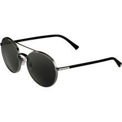 Valentino Okulary przeciwsłoneczne gunmetal. Szare okulary przeciwsłoneczne damskie lenonki marki Valentino. Za 959,00 zł.