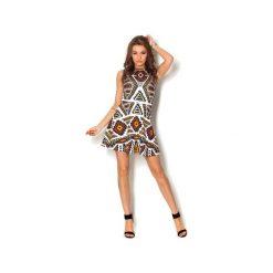 Sukienki: Sukienka rozkloszowana Tlacotl Aztec