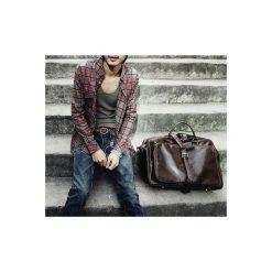 LUISE Brązowa torba męska na ramię Solier vintage. Brązowe torby na ramię męskie marki Solier, z materiału. Za 179,00 zł.
