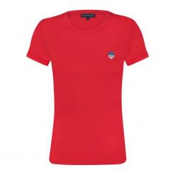 Sir Raymond Tailor T-Shirt Damski Mid Iron, Xl, Czerwony. Czerwone t-shirty damskie Sir Raymond Tailor, xl. W wyprzedaży za 49,90 zł.