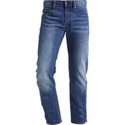 GStar 3301 SLIM Jeansy Slim Fit medium aged. Niebieskie jeansy męskie relaxed fit G-Star. Za 459,00 zł.