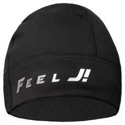 Czapki męskie: Feelj Czapka zimowa unisex Basic czarna (00526_uni)