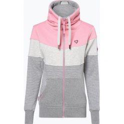 Alife& Kickin - Damska bluza rozpinana – Sunshine, różowy. Czerwone bluzy rozpinane damskie marki Alife& Kickin, m, w paski. Za 349,95 zł.