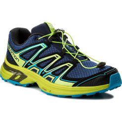 Buty SALOMON - Wings Flyte 2 399670 27 W0 Blue Depths/Lime Green/Hawaiian Surf. Niebieskie buty do biegania męskie marki Salomon, z materiału, na sznurówki. W wyprzedaży za 299,00 zł.