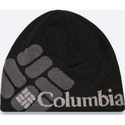 Columbia - Czapka. Czarne czapki zimowe męskie Columbia, z dzianiny. W wyprzedaży za 79,90 zł.