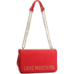 Torebka LOVE MOSCHINO - JC4064PP16LS0500  Rosso. Czerwone torebki klasyczne damskie marki Love Moschino, ze skóry ekologicznej. W wyprzedaży za 589,00 zł.
