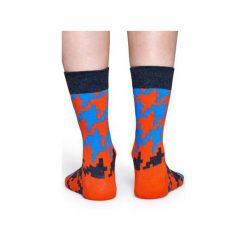 Skarpetki Happy Socks  DGT01-4000. Szare skarpetki męskie Happy Socks, z bawełny. Za 24,43 zł.