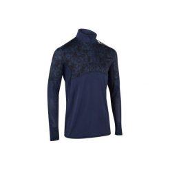 BLUZA THERMIC 900 GRANAT. Niebieskie t-shirty męskie ARTENGO, na zimę, m, z długim rękawem, długie. Za 59,99 zł.