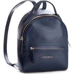 Plecaki damskie: Plecak COCCINELLE – AF8 Clementine Soft E1 AF8 54 01 01 Bleu 011