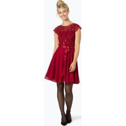 Swing - Damska sukienka wieczorowa, czerwony. Czerwone sukienki balowe Swing, z koronki. Za 549,95 zł.