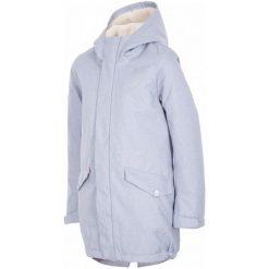 4F Kurtka Dziewczęca J4Z17 jkud104 Niebieski Melanż 92. Niebieskie kurtki dziewczęce przeciwdeszczowe 4f, melanż, z materiału. W wyprzedaży za 139,00 zł.