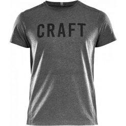 Craft T-Shirt Męski Deft Ss, Szary Xxl. Niebieskie t-shirty męskie z nadrukiem marki Oakley, na lato, z bawełny, eleganckie. W wyprzedaży za 89,00 zł.