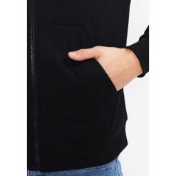 GStar MONTHON HOODED ZIP Bluza rozpinana dark black. Czarne bluzy męskie rozpinane marki G-Star, m, z bawełny. Za 419,00 zł.