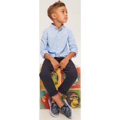 Odzież chłopięca: Bawełniana koszula - Niebieski