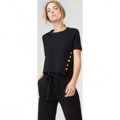 Koszulka w kolorze granatowym. Czarne t-shirty damskie marki Rodier, s, z bawełny, z okrągłym kołnierzem. W wyprzedaży za 239,95 zł.