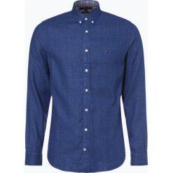 Tommy Hilfiger - Koszula męska, niebieski. Białe koszule męskie marki DRYKORN, m. Za 399,95 zł.