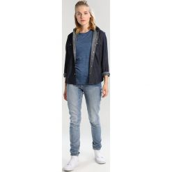 Topy sportowe damskie: Icebreaker SPHERE LOW CREWE Tshirt basic prussian blue heather