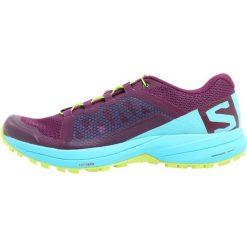 Salomon XA ELEVATE Obuwie do biegania Szlak dark purple/blue curacao/acid lime. Szare buty do biegania damskie marki Salomon. Za 569,00 zł.