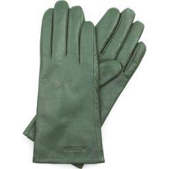 Rękawiczki damskie 39-6L-201-Z. Zielone rękawiczki damskie Wittchen, z polaru. Za 99,00 zł.