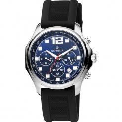 Zegarek kwarcowy w kolorze czarno-srebrno-niebieskim. Czarne, analogowe zegarki męskie Esprit Watches, plastikowe. W wyprzedaży za 204,95 zł.
