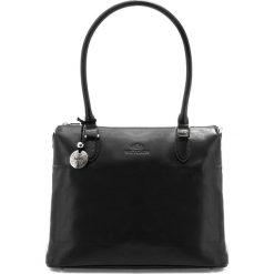 Torebka damska 35-4-049-1. Czarne torebki klasyczne damskie Wittchen, w paski. Za 999,00 zł.