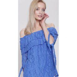 Bluzki asymetryczne: Niebieska Bluzka Heart Will Go On