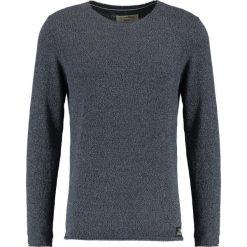 Swetry klasyczne męskie: TOM TAILOR DENIM CREWNECK Sweter black