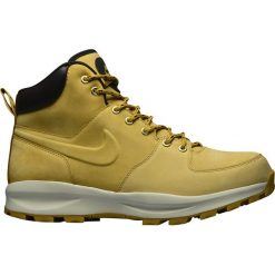 Buty Nike Manoa Leather (454350-700). Brązowe buty trekkingowe męskie Nike, z materiału, outdoorowe. Za 329,99 zł.