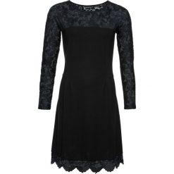 Sukienka bonprix czarny. Czarne sukienki koronkowe bonprix. Za 109,99 zł.