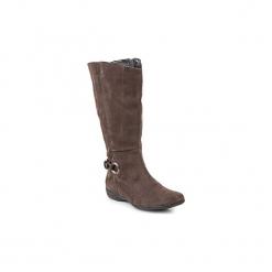 Kozaki GXXL  AELAN. Brązowe buty zimowe damskie GXXL. Za 517,30 zł.