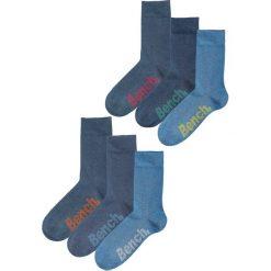 Skarpety Bench (6 par) bonprix 6x dżinsowy. Niebieskie skarpetki męskie bonprix. Za 38,94 zł.