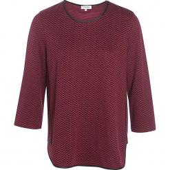 """Koszulka """"Teresaa"""" w kolorze ciemnoczerwonym. Czerwone t-shirty damskie marki Scottage, z bawełny, z okrągłym kołnierzem. W wyprzedaży za 63,95 zł."""